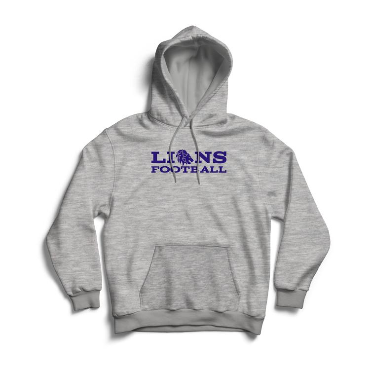 Lions Fan-Hoody Damen 2019