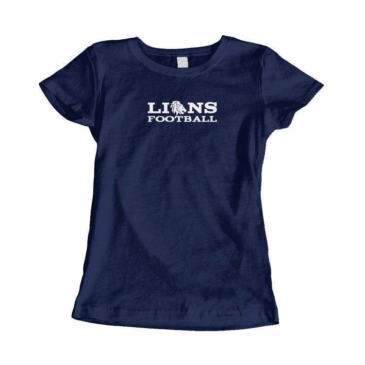 Lions Fan-T-Shirt Damen 2019