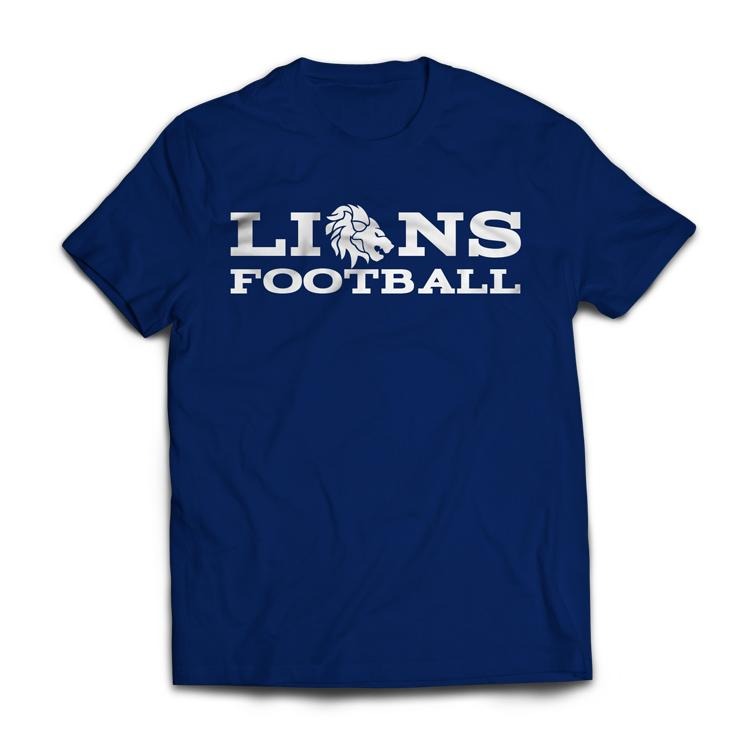 Lions Fan-T-Shirt Herrem 2019