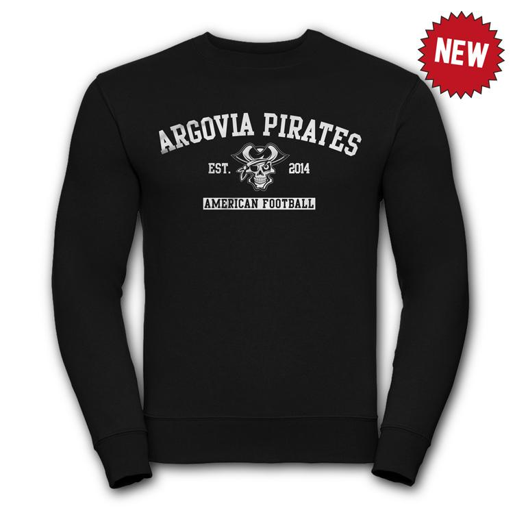 Pirates Crew Neck Pullover